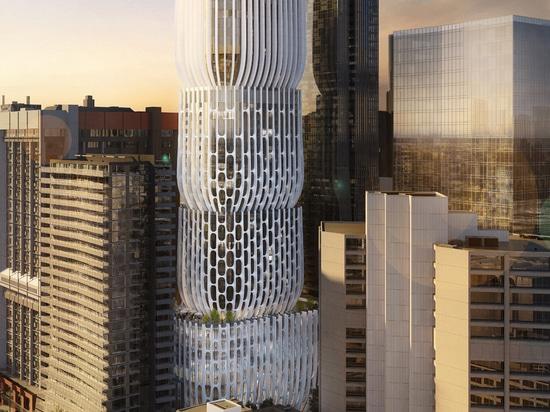 Zaha Hadid prévoit le gratte-ciel de Melbourne composé empilés des «vases»