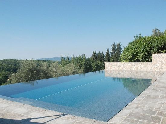 Les nuances de bleu pour votre piscine en mosaïque - Ô Concept