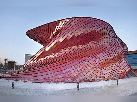 Grand succès des dalles Casalgrande Padana sur le Pavillon Vanke à l''Expo 2015 Milano
