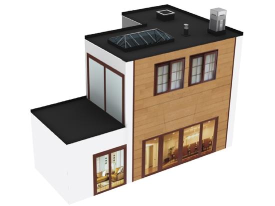 Flexirub réinvente l'étanchéité des toitures plates