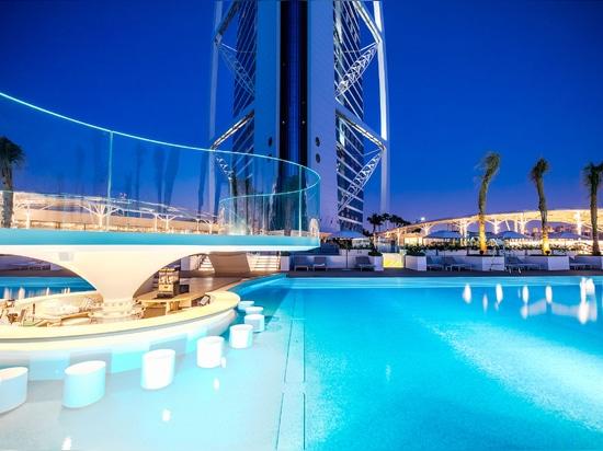 Burj Al Arab Terrace, Dubaï (EAU)