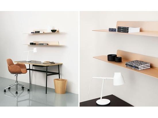 Jet Is A mince, étagère moderne et minimaliste