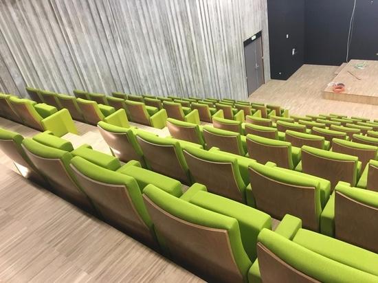Quinette Gallay équipe l'auditorium de VEOLIA