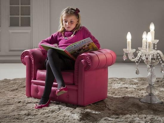 Chaise de la jeunesse de Chesterfield