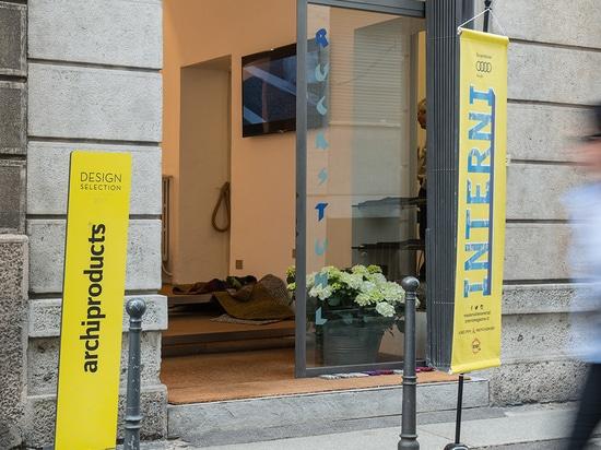 Chaise de Stammplatz à Milan !