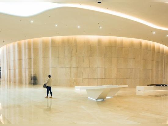 projet de liniLED® - musée d'Etihad