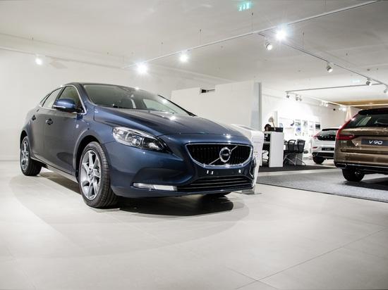 Projet du support de Volvo par Brilumen