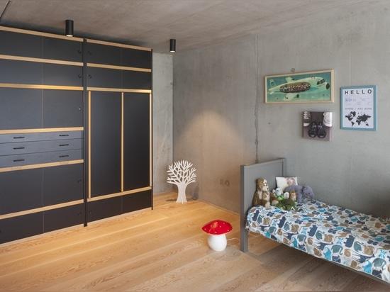 La résidence de Grimbergen : les architectes d'i.s.m choisissent l'orbite