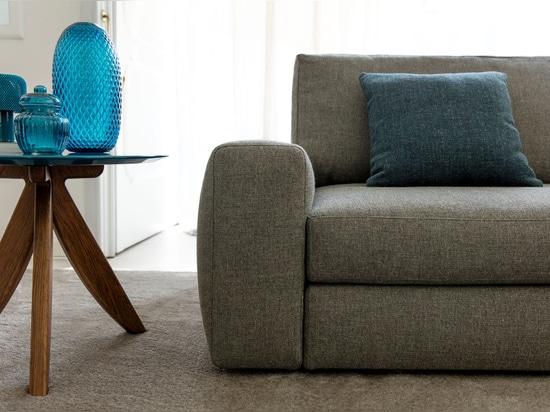 Sofa de tissu de Joey