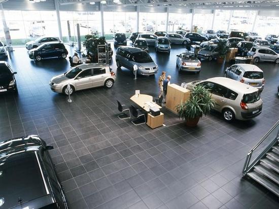 Salle d'exposition Renault - aucun nom