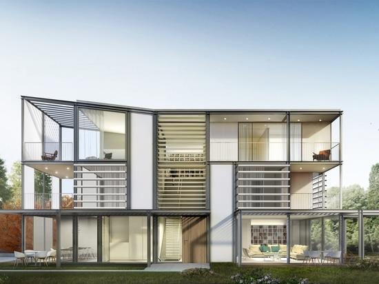 Conception exclusive des façades extérieures : détails techniques