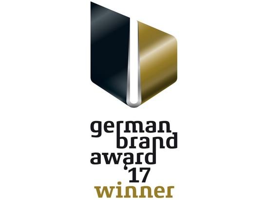 BRUNE gagne le German Brand Award 2017