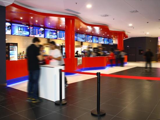 KRION® dans les salles de cinéma les plus modernes d'Europe, cinéma multiplexe Multicines Odeon Sambil