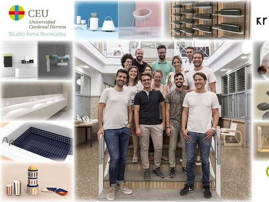 KRION collabore avec la fondation CEU dans le cadre du master en conception de produit imparti par Inma Bermúdez Studio