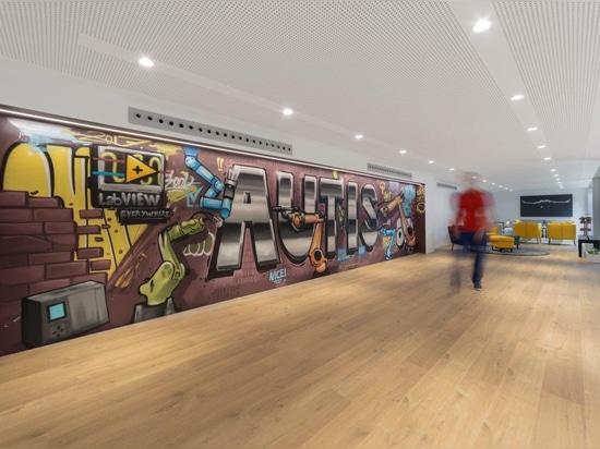 KRION participe au meilleur projet d'AUTIS : ses propres installations