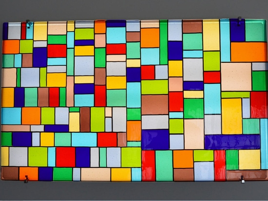 GIARDINI – panneau en verre décoratif fixé au mur