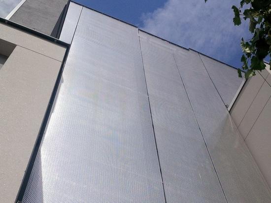 Revêtement architectural de façade de maille de HAVER