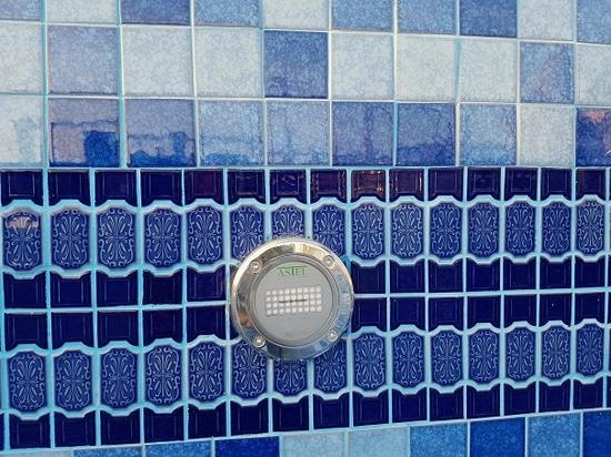 Lumières sous-marines de LED pour les piscines architecturales à extrémité élevé
