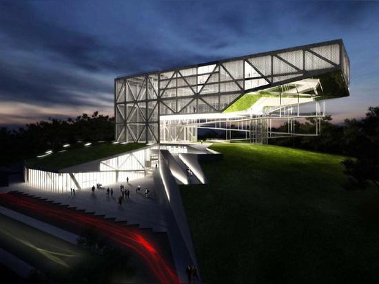 MUSEU DA TOLERÂNCIA par Frentes Arquitetos. Structure par YCON Engenharia.