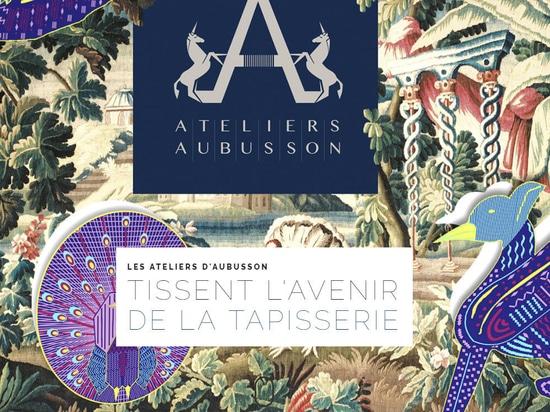 Les Ateliers d'Aubusson tissent l'avenir de la tapisserie