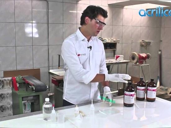 Sinteglas sur Acrilico TV