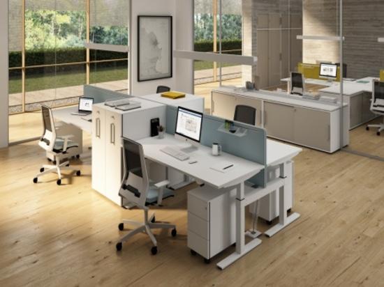 Manivelle - desking réglable de taille