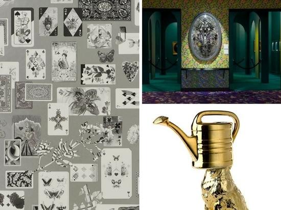 Papier peint de Maison de Jeu par Christian Lacrois pour la guilde de concepteurs (à gauche), la bataille de Medaillon XXI de la vie boîte par de Corina Wagenaar (en haut à droite) et de loup arros...
