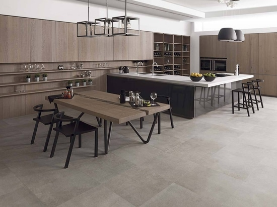 KRION dans la collection Emotions de PORCELANOSA Kitchens - Gamadecor