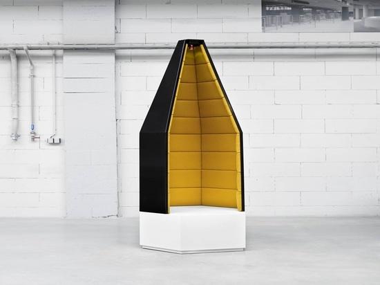 Point tranquille de Santini. Courtoisie d'Amos Design.