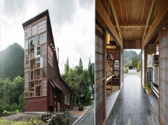 Taverne de Kamikatz. Courtoisie de NAP Architects.