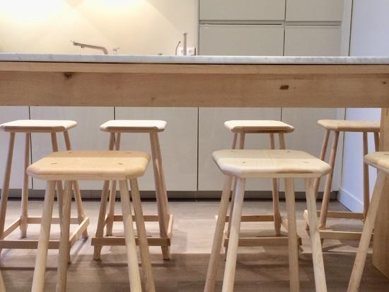 Aménagement d'un espace détente et restauration pour une société à Paris