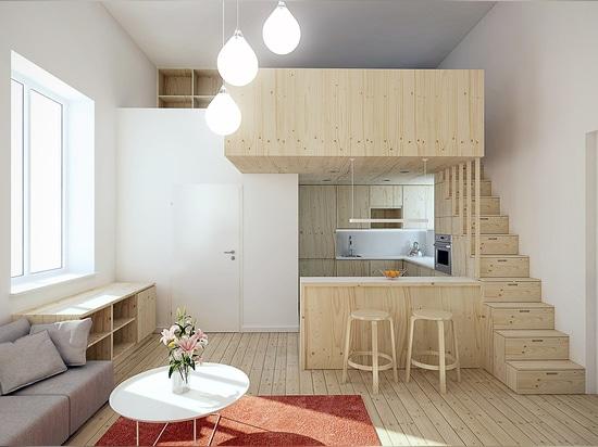 Concevoir pour les petits espaces superbes 5 appartements micro