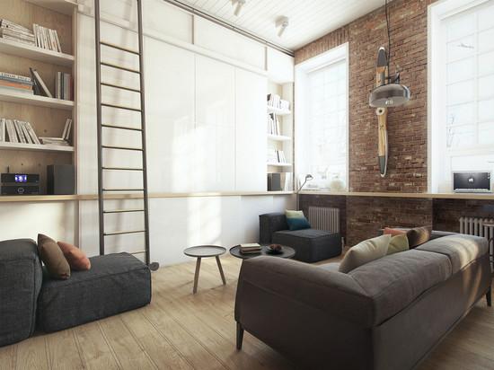 Un petit appartement superbe qui sadapte à son propriétaire les besoins