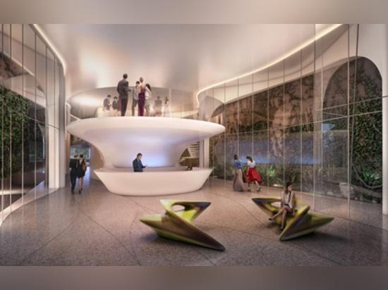 Le premier bâtiment brésilien de Zaha Hadid a conçu pour la plage de Copacabana