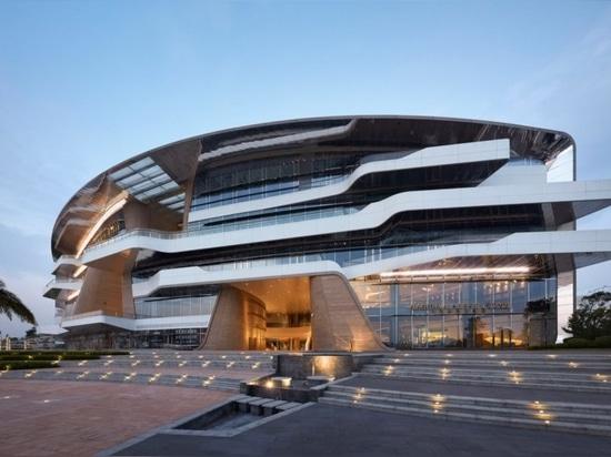 UNStudio accomplit une marina avec un pavillion comme un yacht luxe en Chine