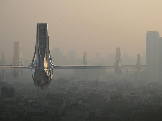 Vaste grille des tours de filtre proposée à travers Delhi pour combattre le brouillard enfumé toxique