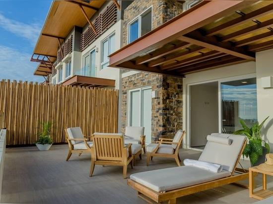 Projet résidentiel à Nicaragua avec notre revêtement Montblanc.