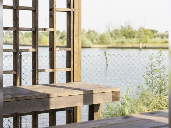 Un pavillon pour danser sur la lagune de Venise