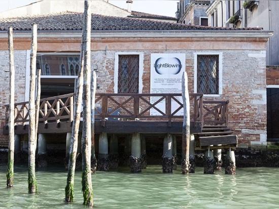 Venise. Six projets dans le verre soufflé à la lumière soufflant 2018