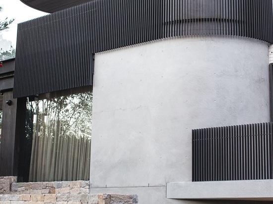 La Chambre de colline de Bellevue par des architectes de Geoform