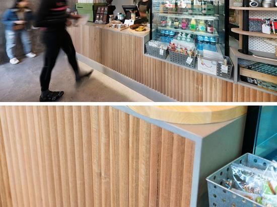 Ce petit café à Melbourne tire le meilleur de son espace