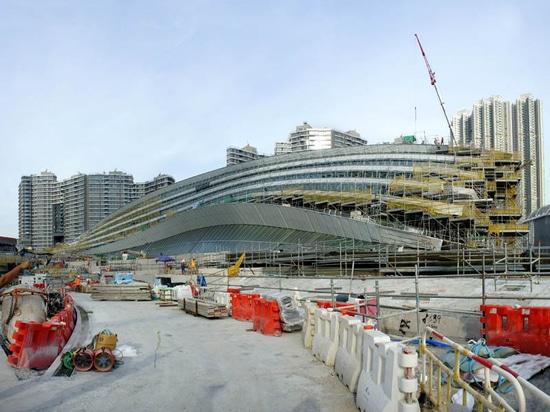 STATION OCCIDENTALE DE KOWLOON SUR LA VOIE À DEVENIR NOUVEAU POINT DE REPÈRE DE HONG KONG