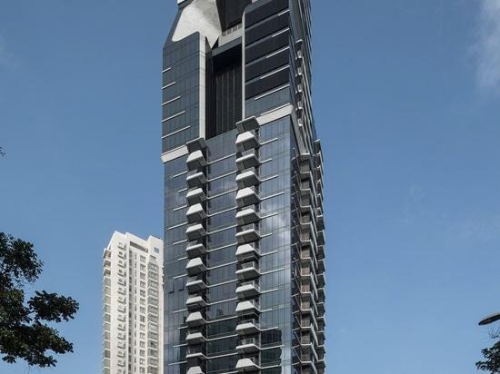 """UNStudio accomplit les deux """"V sur le shenton"""" et """"la tour de scotts"""" à Singapour"""