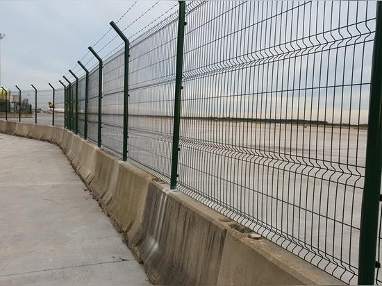 Clôtures T1 de l'aéroport de Barcelone.
