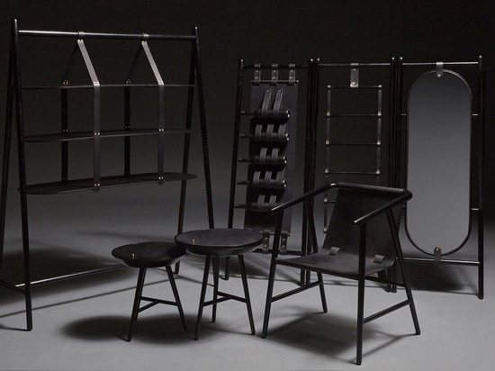 Le rêve noir est une série de «meubles avec l'âme» par Sheng Yin et Kai Yi