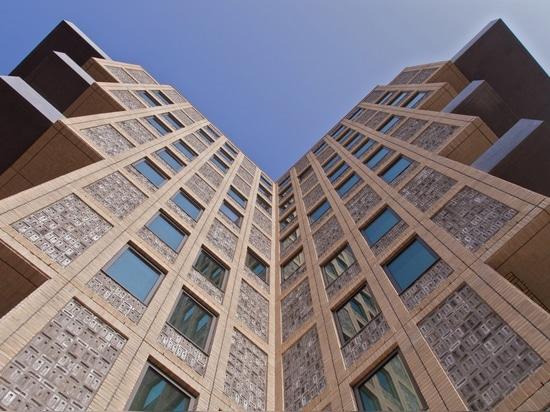 La tour de belvédère est une résidence néerlandaise cruciforme trop lourde du haut