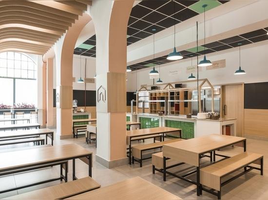 Le studio Dlux convertit le bâtiment historique à São Paulo en école des enfants