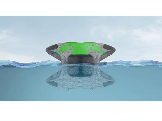 l'unité réceptrice de flottement flolony par le hov offre la vie indépendante sur la mer ouverte