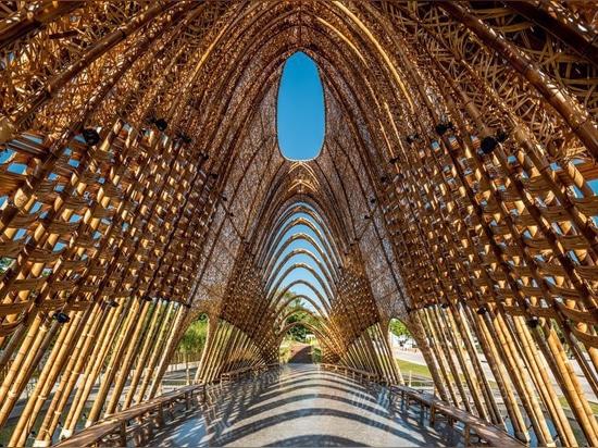"""Le studio de ZUO construit """"le pavillon en bambou"""" pour exprimer la beauté naturelle de Taiwan"""