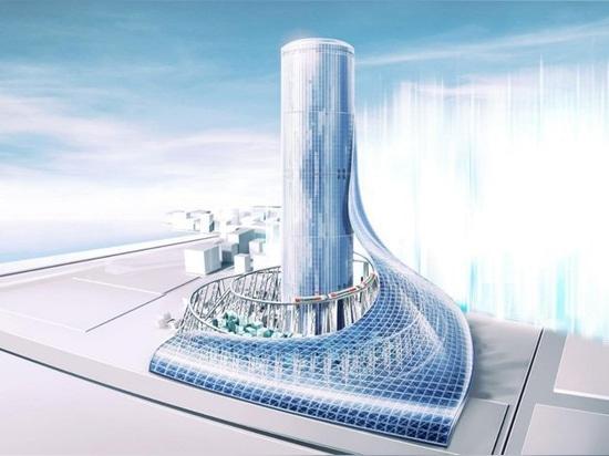la métro d'Osaka prévoit la reconstruction à grande échelle avec la station futuriste de gratte-ciel dans le yumeshima